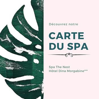 Carte Spa the Nest