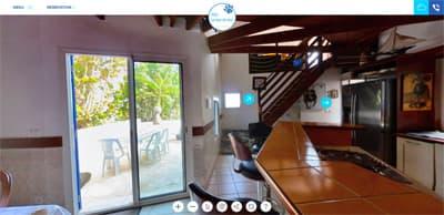 Visite virtuelle Villa Le Lion de Mer