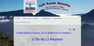 Website Agil Rando Reunion