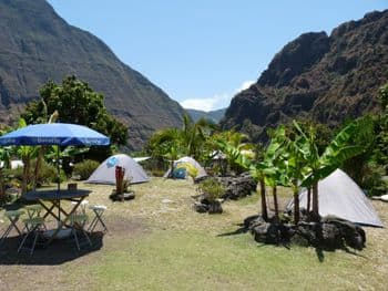 Camping in Reunion island