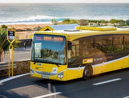 public buses in reunion island cars jaunes and other networks. Black Bedroom Furniture Sets. Home Design Ideas