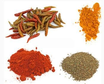 Spices for Creole cuisine