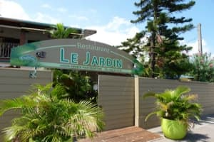 restaurant le jardin in saint paul