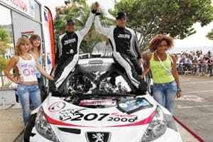 The winners of the Tour Auto 2012