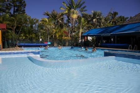 The pool at the Sain Gym Club