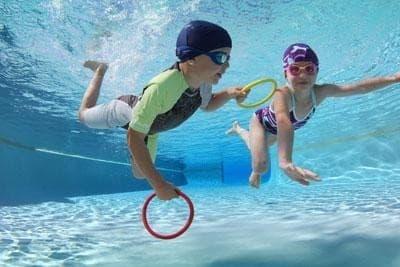 Cours natation débutant