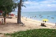 plage logon saline les bains