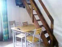 the paradise box duplex stairs