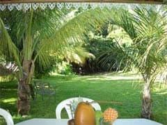 bungalow n°2 table jardin