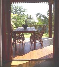 bungalow 1 terrasse