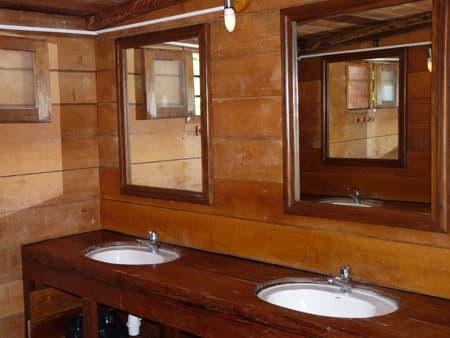La salle de bains commune
