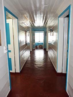 Accès aux chambres doubles et triple