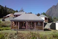 the relay mafate bungalow facade