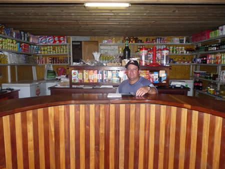 Mr Boyer in his shop