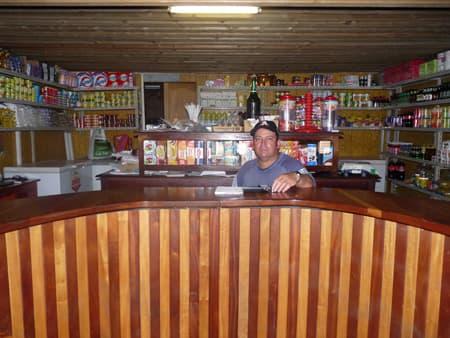 Mr Boyer in his shop