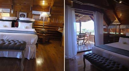 Double bedroom in Lodge Geranium