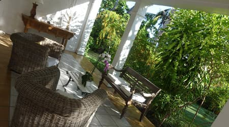 Lounge under the verandah