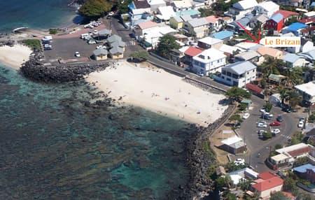 A 15 m de la plage