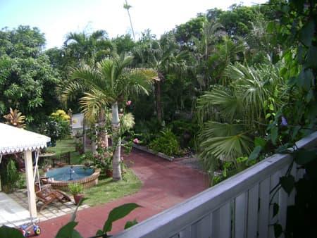 Studio Le Bengali 1 - Vue de la terrasse