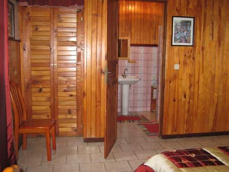 La salle d'eau privative