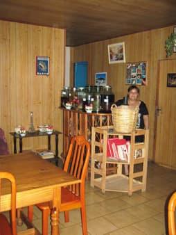Sergine et sa table d'hôtes