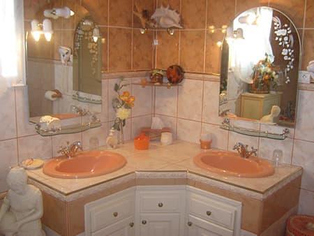 Salle de bains Coucher de soleil