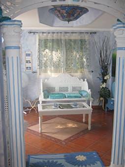 L'Ange bleu lounge