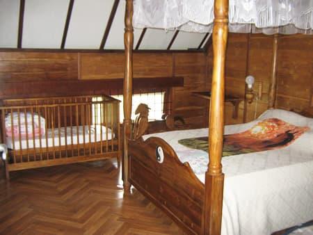 Chambre double à l'étage gite n°562