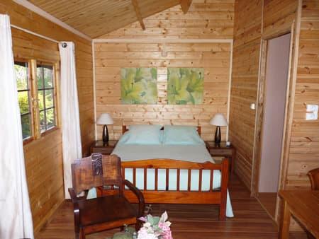 Le Vert Est cottage - Bed