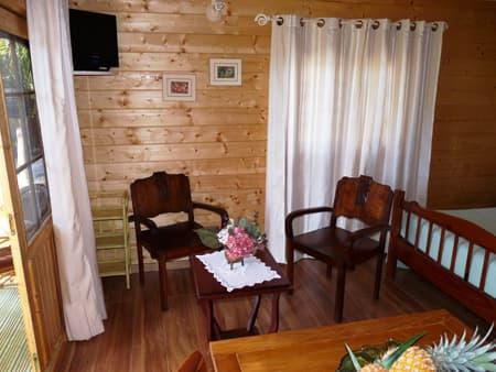 Le Vert Est cottage - Living