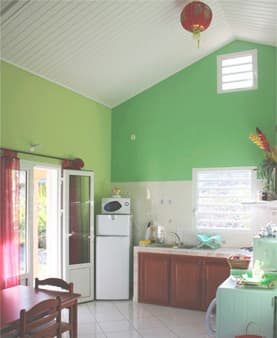 Ma Caze Mandarine - Kitchen