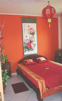 Ma Caze Mandarine - Chambre déco chinoise