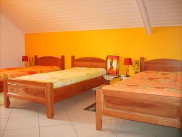 Ma Caze Orange - Chambre mezzanine pour trois
