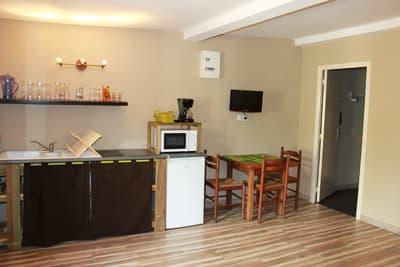 studio z´oiseaux - kitchenette