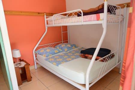 Chambre triple villa n°2