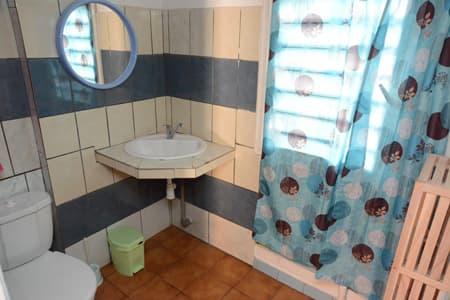 Salle d'eau villa n°2