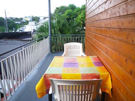 apartment n°5 - balcony