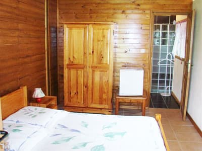 grand chalet : chambre double