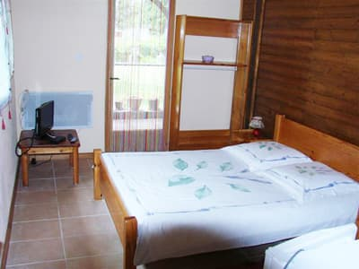 chalet : double bedroom