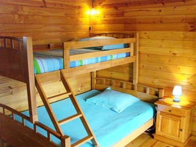chalet : triple room