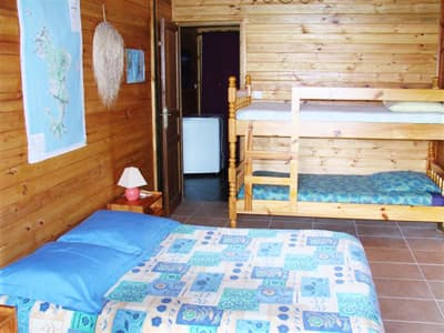 grand chalet : chambre quadruple