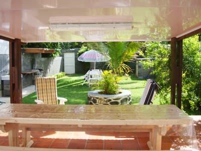 terrace and jardin