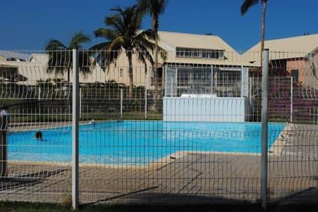 La résidence avec piscine