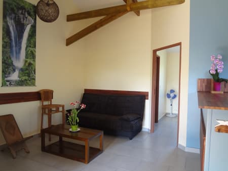Bungalow Le Papangue - Lounge