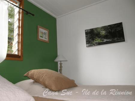 Chambre twin Gîte Vert Natte