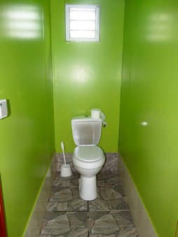 Toilet for the dorms