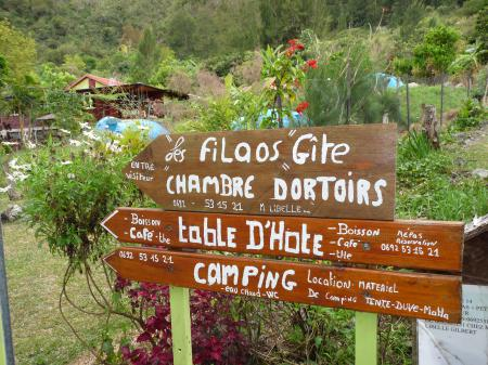 Welcome to the Gite-Table d'hotes-Camping Les Filaos