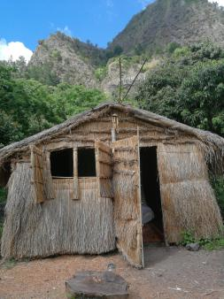 Our traditional hut