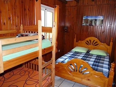 The quadruple bedroom