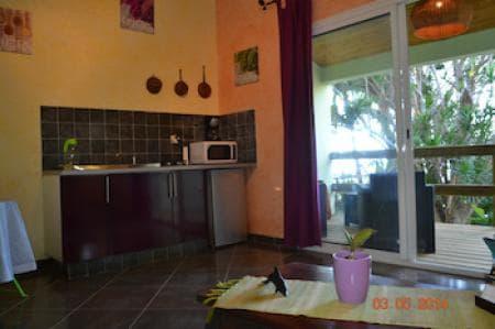 Kitchen in apartment